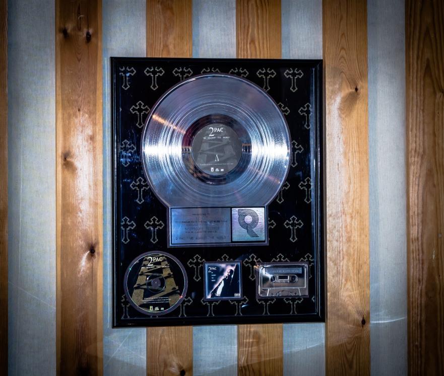 2Pac Platinum Award