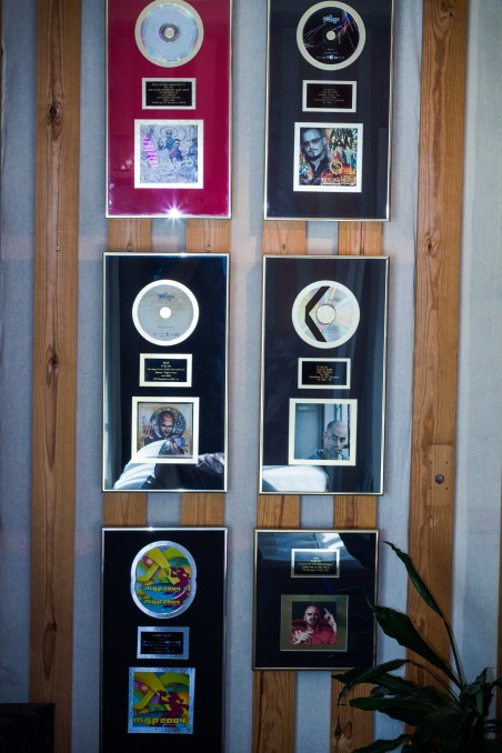 Wall of Awards