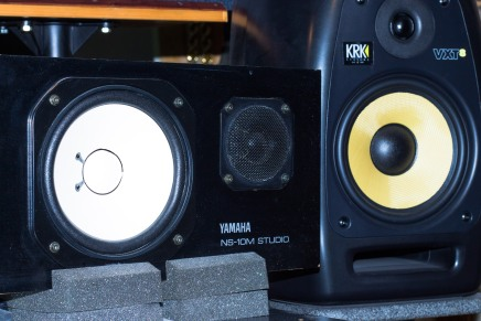Monitors #yamaha #krk